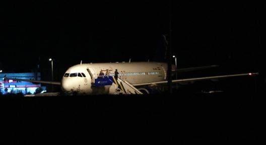 İndirilen Suriye Uçağından Çıkan Malzemeler