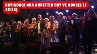 80 Yıl Parkı Göksel ve Nurettin Bay Konseriyle Açıldı