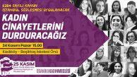 Kadın Cinayetlerini Durdurma Mücadelesi İçin Kadıköy'de Toplanıyorlar