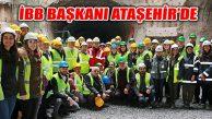İmamoğlu, Ataşehir'de Metro Hattı İncelemesinde Bulundu