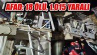 Elazığ Sivrice Depremi: Elazığ'da 14, Malatya'da 4 Can Kaybı