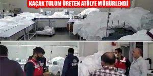 Maltepe'de Kaçak Üretilen Tulumlara Zabıta Baskını
