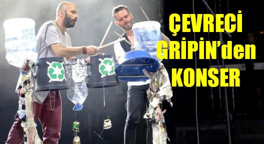 Çevreye Dost 'Gripin'den Ataşehir'de Konser