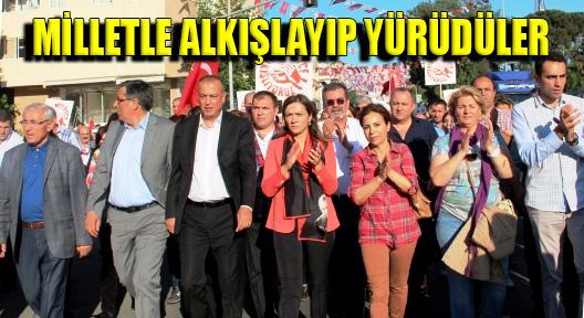 CHP'den Ataşehir'de 'Milletçe Alkışlıyoruz'