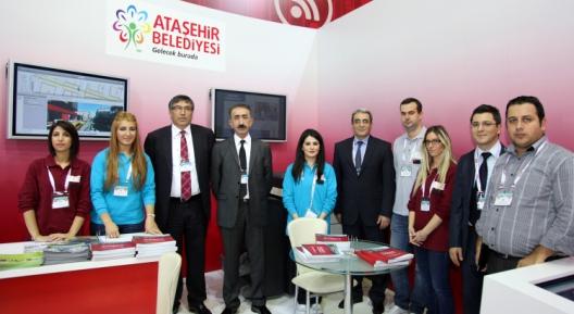 Ataşehir Belediyesi CEBİT Bilişim Fuarı'nda