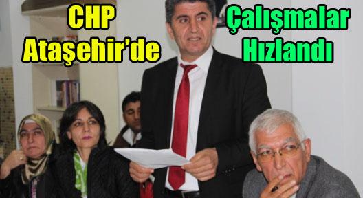 CHP Ataşehir, Mahallelerde Seçim Çalışmalarını Hızlandırdı