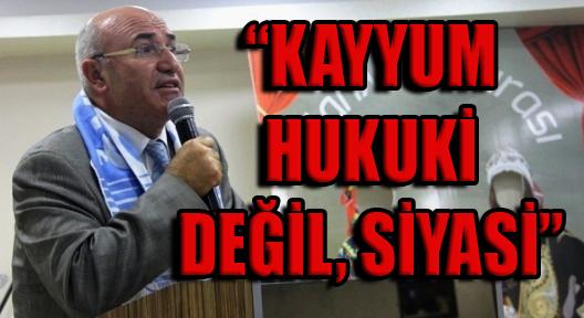 "MAHMUT TANAL ""KORKUTMA, SİNDİRME OPERASYONU"""